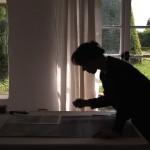 Projection du film de Teri Wehn-Damisch, consacré à Jacqueline Salmon à la Maison européenne de la photographie