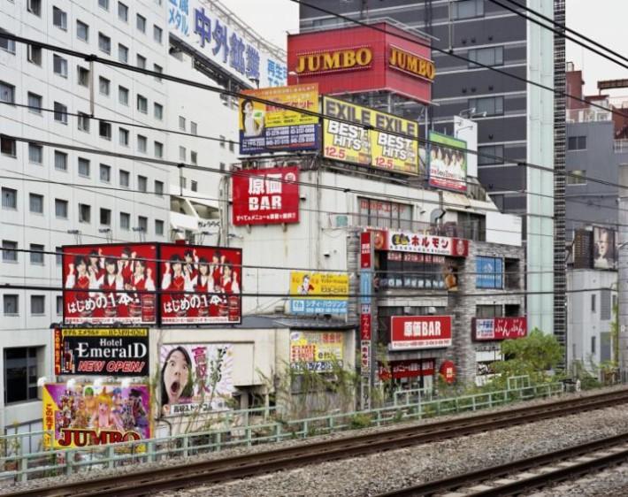 The Yamanote Line, Tokyo - Gotanda © Thierry Girard