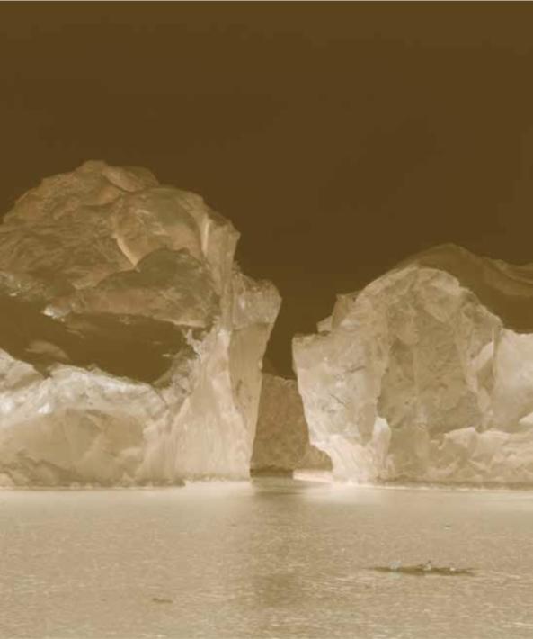 Les Portes de glace, photo ©Juliette Agnel, courtesy Galerie Françoise Paviot