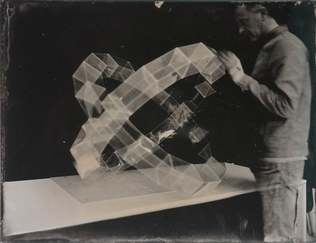 Somnium7, ambrotype, 30x20cm, 2014 © Laurent Millet, Courtesy La Galerie Particulière, Paris